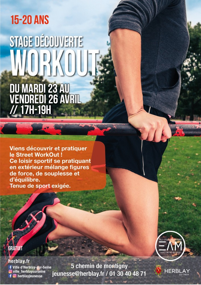 Stage découverte WORKOUT