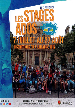Les stages ados