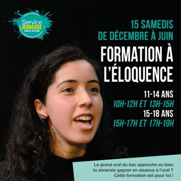 Formation à l'éloquence - 1ère session