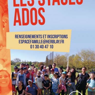 Les stages ados 11-17 ans 2019